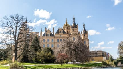 Schwerin Palace and some city impressions